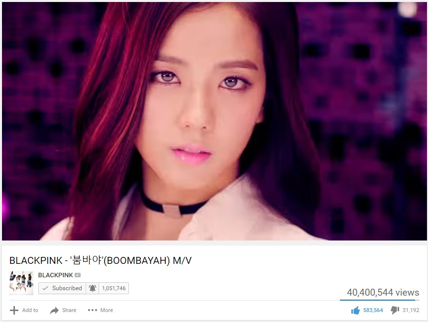 Black Pink Boombayah Youtube